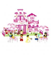 Конструктор розовая мечта модный ресторан 306 деталей Sluban Г44951...
