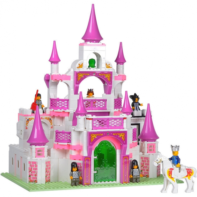 Конструктор розовая мечта крепость для принцессы Sluban Г44954