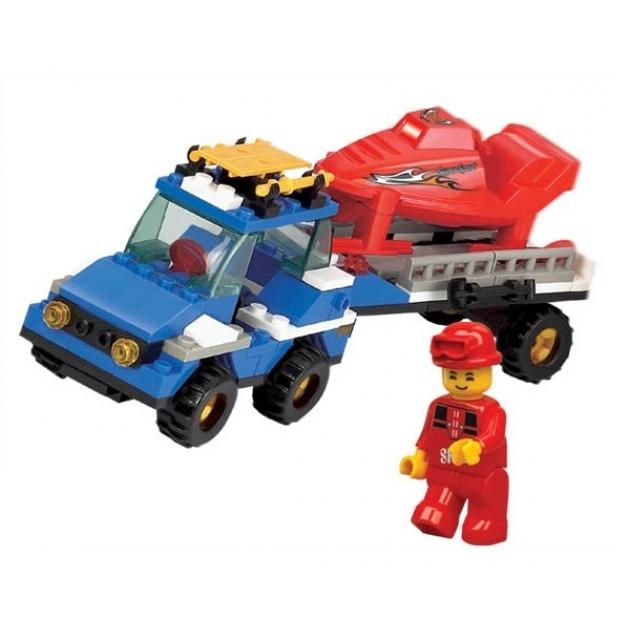 Конструктор горные спасатели грузовик 135 деталей Sluban M38-B0158