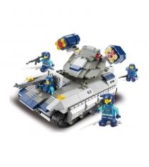 Конструктор военный спецназ ракетный танк вулкан Sluban Г28694...