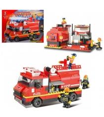 Конструктор пожарные спасатели машина 281 деталь Sluban Г28698...
