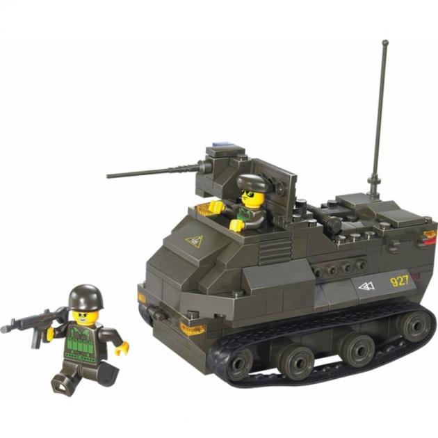 Конструктор вооруженные силы бронетранспортер Sluban M38-B0281