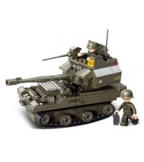 Конструктор армия танк 178 деталей Sluban Г35965