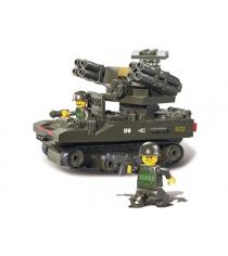 Конструктор вооруженные силы танк с 2 пушками 212 деталей Sluban Г35966...