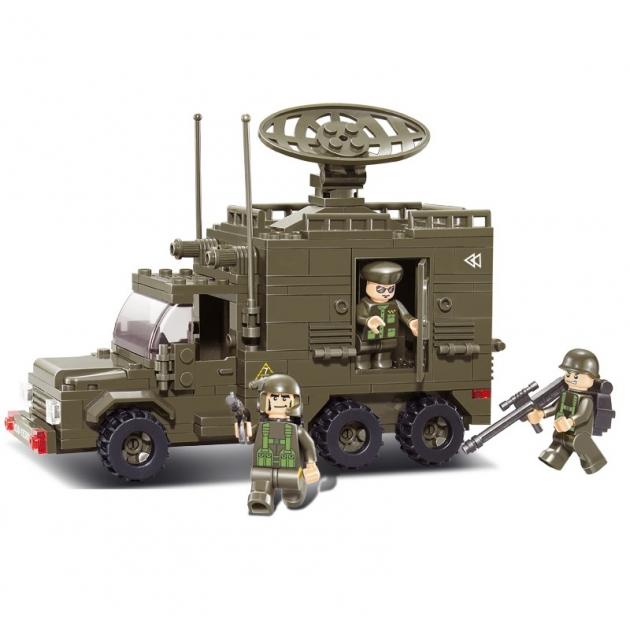 Конструктор армия военная машина с фигурками 231 деталь Sluban M38-B0300