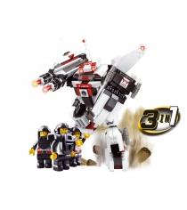 Конструктор космический десант робот трансформер 313 деталей Sluban Г43389...