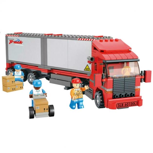 Конструктор городская серия большой грузовик 345 Sluban M38-B0338