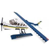 Конструктор авиация самолет на водных лыжах 214 деталей Sluban Б51057...