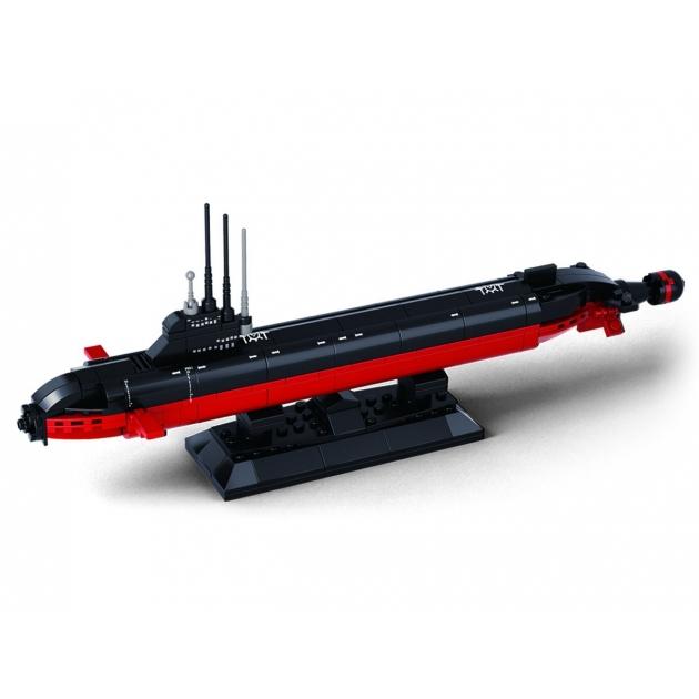 Конструктор морской флот атомная подводная лодка 193 Sluban M38-B0391