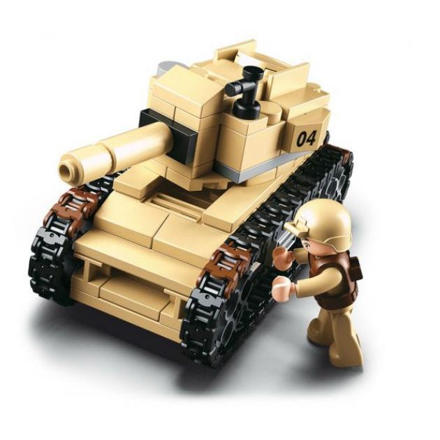 Конструктор армия танк 158 деталей Sluban M38-B0587B