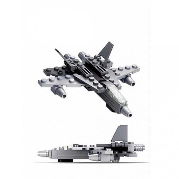 Конструктор армия истребитель 44 детали Sluban M38-B0596A
