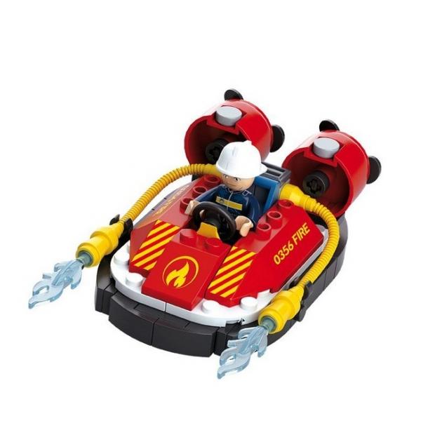 Конструктор пожарный катер 86 деталей Sluban M38-B0622B