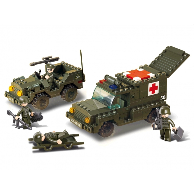 Конструктор сухопутные войска 229 деталей Sluban M38-B6000
