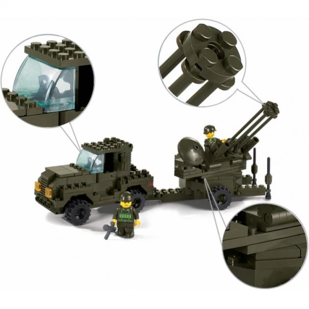 Конструктор армия воздушные силы 221 деталь Sluban M38-B7300