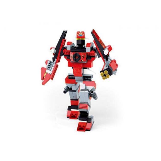 Конструктор робот трансформер космический боец 143 детали Sluban M38-B7700