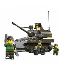 Конструктор сухопутные войска танк 258 деталей Sluban Г28709...