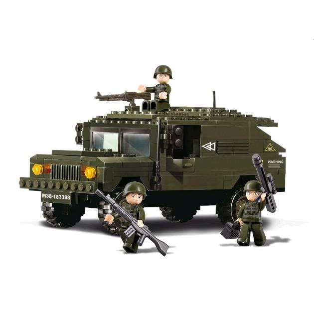 Конструктор армия сухопутные войска 191 деталь Sluban Г19663