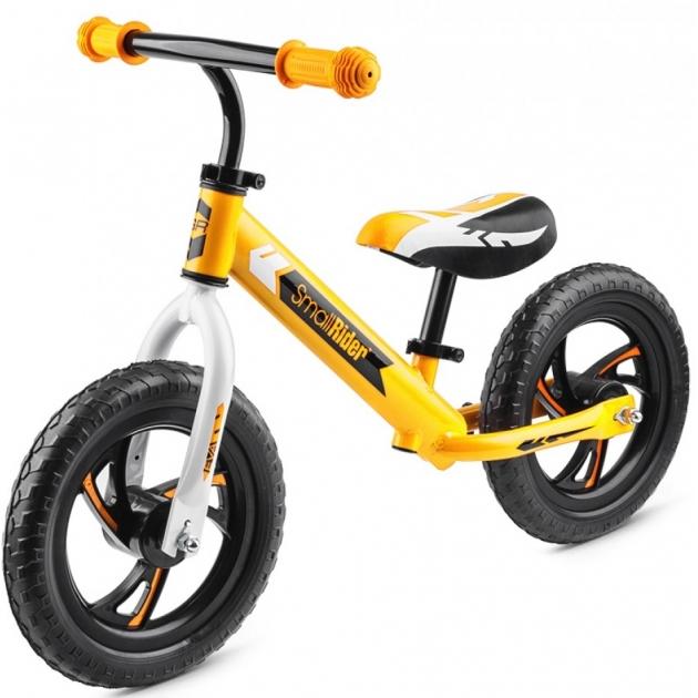 Детский беговел Small rider roadster eva жёлтый