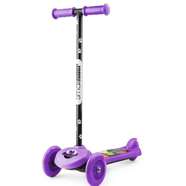 Трехколесный самокат Small rider cosmic zoo scooter фиолетовый