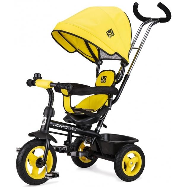 Детский трехколесный велосипед Small rider voyager вояджер желтый