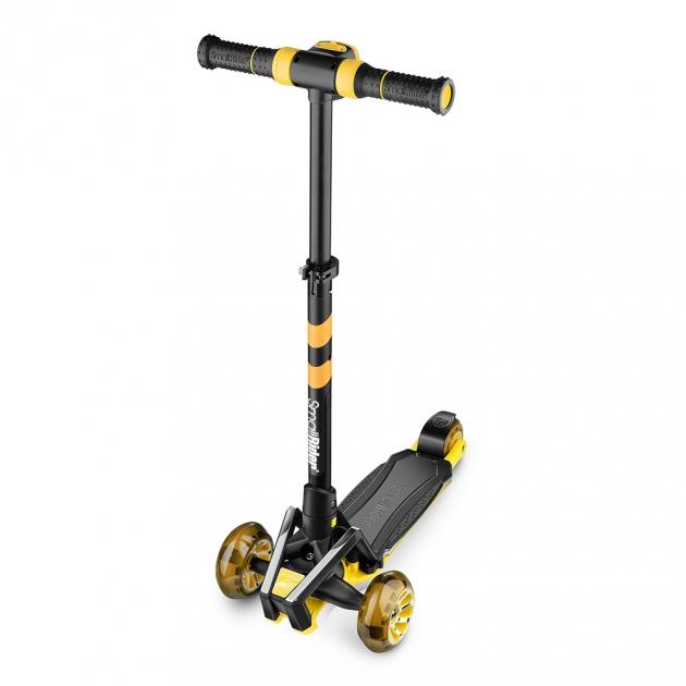 Самокат Small rider premium pro желтый