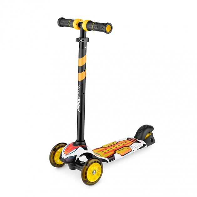 Детский трехколесный самокат Small rider turbo оранжевый