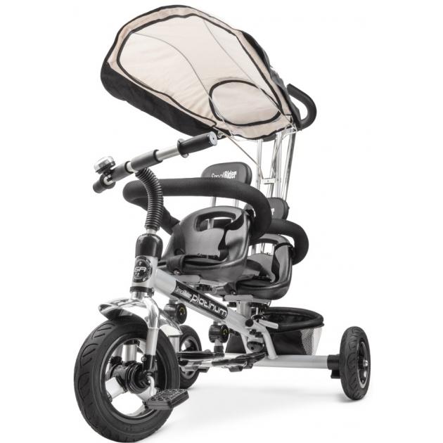 Элитный трехколесный велосипед для двойни Small rider platinum alt