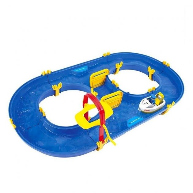 Водный трек Smoby rotterdam big waterplay 90х50х9 см 5372
