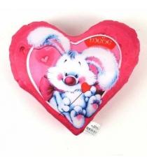 Подушка антистресс в форме сердца валентинка 18 см СмолТойс 2585/РЗ-2