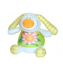 Антистрессовая игрушка заяц фредди 30 см СмолТойс 2864/БЕЛ/30