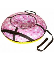 Тюбинг SnowDream Glamour maxi 100 розовый