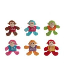 Магнит мягкий обезьянка 8 см Snowmen Е96010