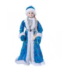 Снегурочка 46 см голубая шуба Snowmen Е96414