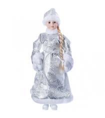 Снегурочка 46 см серебряная шуба Snowmen Е96411