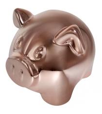 Копилка символ года свинья покрытие под бронзу 12x9x9 5 см Snowmen Е96589