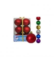 Набор новогодних шаров 5 см 12 шт Snowmen Е0045