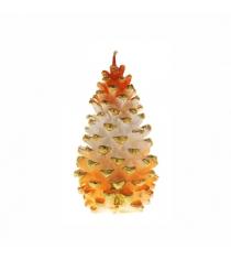 Декоративная свеча шишка 12 см Snowmen Е51259