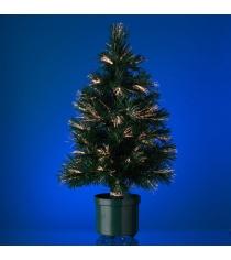 Новогодняя елка со светодиодными иголочками 60 см Snowmen Е70115