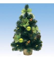 Новогодняя елка с украшениями в корзине 51 см Snowmen Е70376