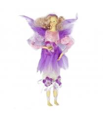 Новогодняя мягкая фигурная игрушка фея 30 см Snowmen Е80163