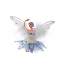 Новогодняя фигурная подвеска фея балерина 9 см Snowmen Е92161
