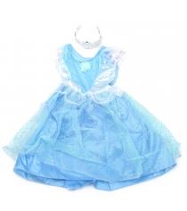 Карнавальный набор голубое платье тиара 4 6 лет Snowmen Е92173