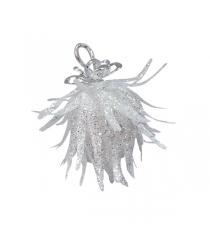 Новогоднее фигурное украшение с блестками 9 см Snowmen Е94730
