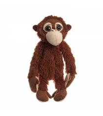 Мягкая сумочка обезьянка коричневая 43 см Snowmen Е96004
