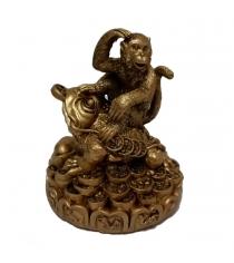 Новогодняя фигурка символ года обезьянка Snowmen Е96045