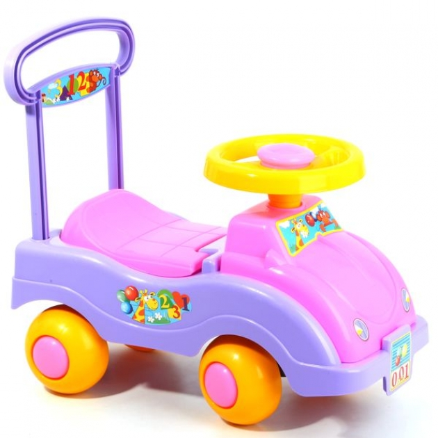 Игрушка автомобиль каталка для девочек Совтехстром Р57020