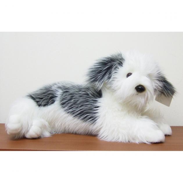Мягкая игрушка щенок пастушьей собаки 38 см Soya 2063C