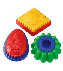 Двухцветная формочка Spielstabil с рисунком для песочницы 7401