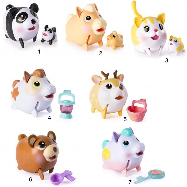 Игровой набор из 2 фигурок chubby puppies движение Spin Master 56709