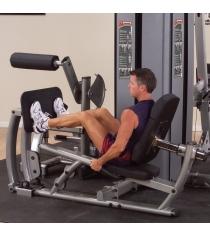 Опция к DGYM Двухпозиционный тренажер для жима ногами и тренировки икроножных мышц с весовым стеком Body Solid DCLP-S